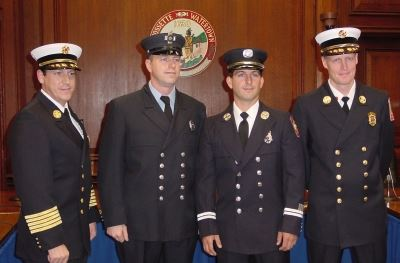 Officer Promotions October 2004