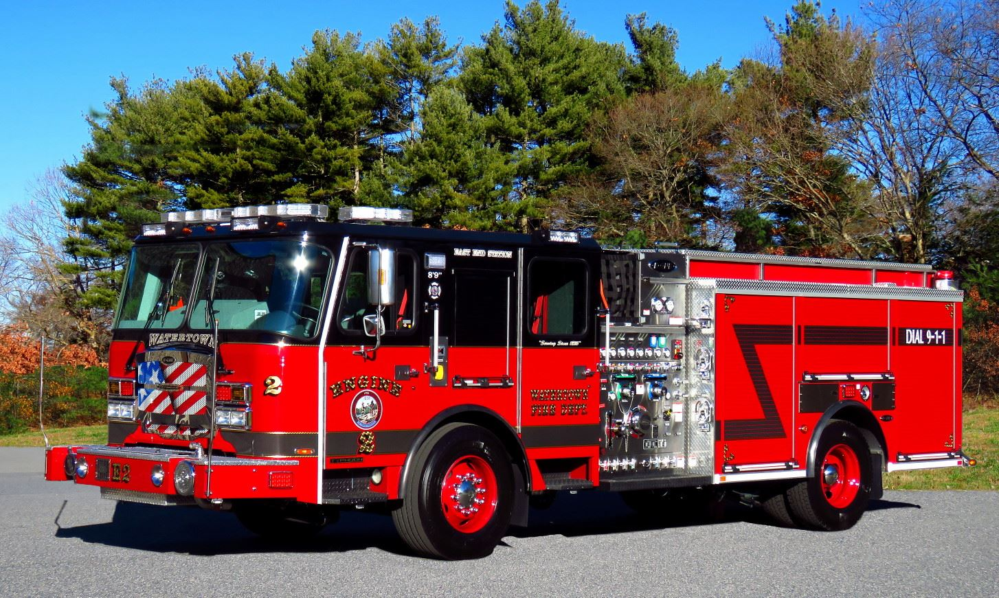 Engine Two - 2018 Emergency One Typhoon 1,250 Gallons Per Minute Pumper