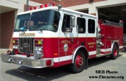 Engine Four - 1994 Emergency One Sentry 1,250 Gallons Per Minute Pumper Reserve